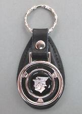 Black Mercury MESSENGER Mini Steering Wheel Leather Keyring 1960 1961 1962 1963