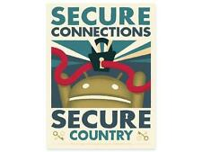 ANDROID FOUNDRY DESIGN SECURE CONNECTIONS POSTER