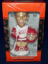BOBBLE DOBBLES BOBBLE HEAD DOMINIK HASEK DETROIT REDWINGS ORANGE BOX JERSEY WHIT