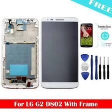 For LG G2 D802 LCD Display Touch Screen Digitizer Frame Assembly Glass + Tools