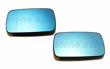 PAIR OF BMW 3series E46 BLIND SPOT MIRROR GLASS+BASE HEATED LEFT & RIGHT