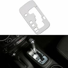 Silver Interior Accessories Trim Automatic Gear Frame Cover For Jeep Wrangler