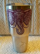 Decal/Sticker for Cooler Cup  Majestic Elephant