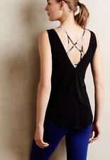 NWT Anthropologie ONZIE Essential V-Back Tank Top Yoga Fitness One Size