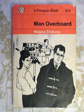 Penguin Book 1813 Man Overboard - Monica Dickens 1962 Social Comedy Zesty Satire