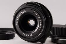 [Top Mint!] Voigtlander 25mm f4 P Color Skopar Leica M lens from Japan #048