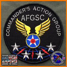 AIR FORCE GLOBAL STRIKE COMMAND COMMANDER'S ACTION GROUP PATCH, BARKSDALE AFB