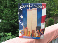 """""""God Bless America"""" 9/11 World Trade Center 550 Pc. Jigsaw Puzzle~New & Sealed!"""