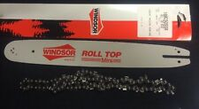 "16"" WINDSOR Roll Top Mini Bar 3/8 .50G & Chain McCulloch chainsaws etc16MC50SSR"