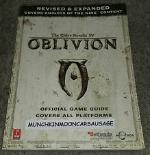 Elder Scrolls IV Oblivion Official Prima Expanded Game Guide for XBox 360 & PC
