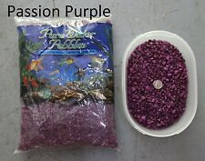 Passion Purple - 5 lbs Aquarium Fish Tank Gravel, Pure Water Pebbles color rock