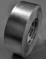 SILVER FOIL ALUMINIUM INSULATION REINFORCED TAPE 72 MM W 50M LONG.FREE SHIPPING
