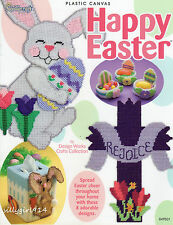 """HAPPY EASTER""~Plastic Canvas PATTERN BOOK ONLY~8 Projects~SEE PICTURES"