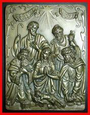 Religious/ Three Kings/ Baby Jesus/ Christmas 1977/ Bronze Medal by C. An (M.**)
