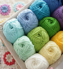 deal of 8 (100g APPROX)  DIY  Children hand  Knit Blanket thread Crochet yarn