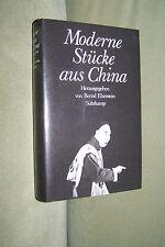 Moderne Stücke aus China EBERSTEIN deutsche Erstausgabe 1980 BUCH Sammlerstück