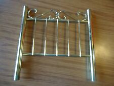 American Girl doll Samantha brass bed HEADBOARD only