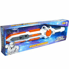 Space Defender Galatic Futuristic White Sword Battery Operated Kids Toy