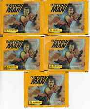 5 X SACHETS  IMAGES *ACTION MAN* 1996