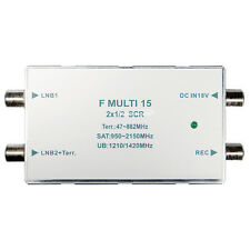 Trans Media unikabel Multi Commutateur 2x1/2 unicable scr Multi Commutateur