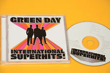 CD (NO LP ) GREEN DAY INTERNATIONAL SUPERHITS ORIG CON LIBRETTO COME NUOVO EX
