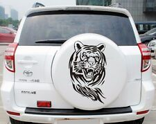Big Cool Tiger Head Car Sticker Reflective Engine Cover Decoration Waterproof