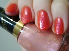 NEW! Revlon Nail Polish Lacquer in PINK GLAZE ~ PINK GOLD FLECK SHIMMER