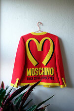 Moschino by Jeremy Scott AW14 McDonalds jacket - Collector's item