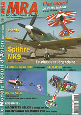 MRA N°781 PLAN : PITTS INDOOR / SPITFIRE MK9 / MICRO STAR 400 / FLIP 3D / OS.50