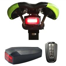 3in1 Bicycle Bike Anti Theft Security Alarm+Tailight+Bell Warning with Remote UK