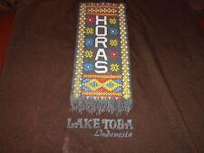 Lake Toba Indonesia   HORAS  by Raja Toba  Brown Women T Shirt   K7