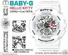 100% Auth!! 2016 HELLO KITTY BABY-G Watch CASIO G-SHOCK BA-120KT-7AJR Lady's