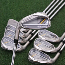 TaylorMade RocketBladez HL Irons 4-PW+AW - LEFT HAND - Steel Regular Golf - NEW