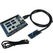 For Mini ITX Mini PCIe to ExpressCard 54 34 adapter USB to Express card reader