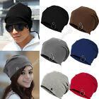 New Unisex Mens Ladies Winter Ski Slouch Knitted Baggy Hip Hop Hat Cap Beanie
