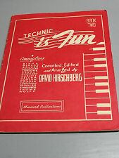 TECHNIC IS  FUN  BOOK 2  DAVID HIRSCHBERG  1943  ORIGINAL   VERY  NICE