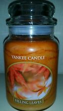 Yankee candle - large 623g jar - FALLING LEAVES retired VHTF