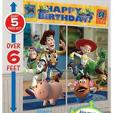 6 feet Toy Story Scene Setter Birthday Banner Decoration party Favor Supplies