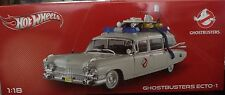 GHOSTBUSTERS 1959 CADILLAC ECTO 1 HOT WHEELS 1:18 BCJ75 *NEW*