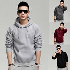 Top Fashion Slim Fit Men Casual Hoodies Hooded Coats Pullover Jackets Sweatshirt