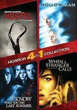 HOSTEL / HOLLOW MAN / I KNOW WHAT YOU DID LAST SUMMER WHEN A STRANGER CALLS DVD