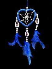 Handmade Heart-shaped Dream Catcher with Feathers car/wall hanging ornament-MHBL