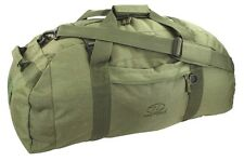 BASE CAMP DUFFLE BAG 65 Litre Military loader waterproof kit army rucksack OLIVE