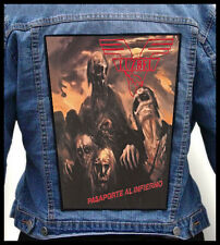 LUZBEL - Pasaporte al Infierno  --- Huge Jacket Back Patch Backpatch