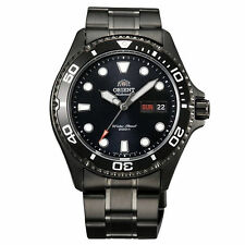 Orient FAA02003B Men's Black Ray Raven II Stainless Steel 200M Diver Watch
