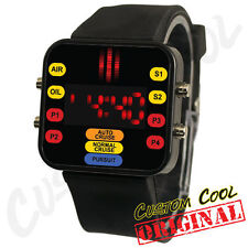 Knight Rider KITT Themed LED Digital Watch