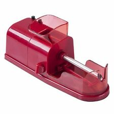 Red Electric Cigarette Rolling Machine Automatic Injector DIY Maker US Plug TPG
