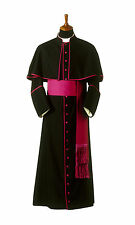cassock with attached shoulder cape / bishop chaplain cassock