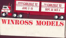 Carlisle Car Shows '82 Container Load Winross Truck