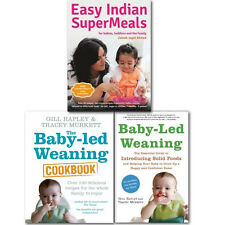 Baby and Toddler Cookbook,The Baby-led Weaning 3 Book  Collection,